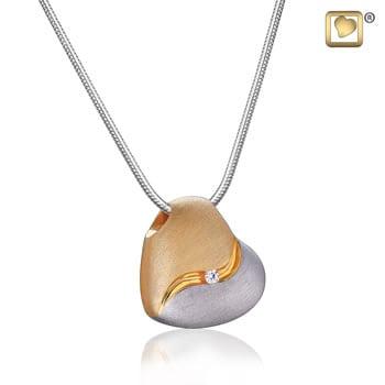 Heartfelt Silver-Gold